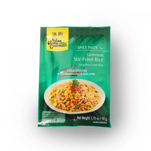 Pâte d'épices pour riz cantonais - Asian Home Gourmet