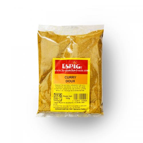Curry doux 100g - Espig