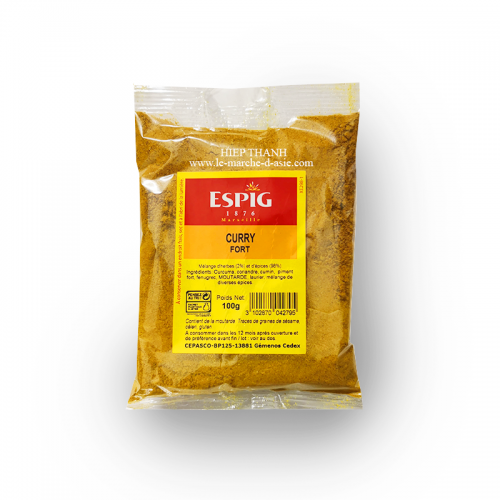 Curry fort 100g - Espig