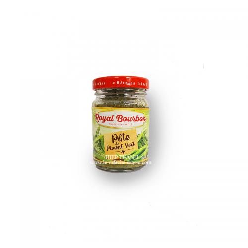 Pâte de piment vert 90g - Royal Bourbon