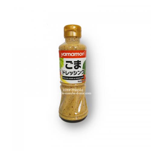 Sauce de salade au sésame grillé 220mL - Yamanori
