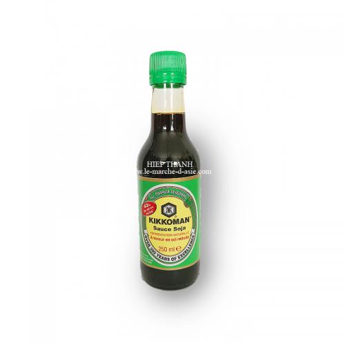 Sauce soja à teneur en sel réduite 250mL - Kikkoman