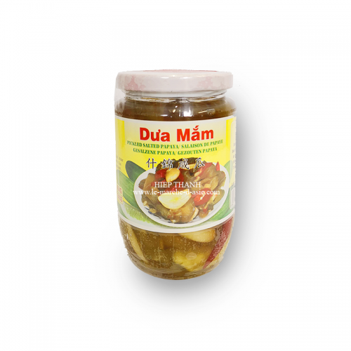 Pickles de papaye dưa mắm  454g - Vinawang