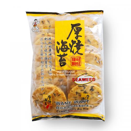 Crackers de riz aux algues 130g