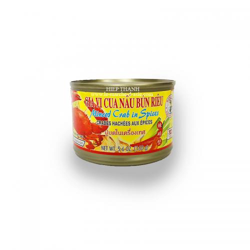Crabes hachés aux épices 160g - Nang Fah