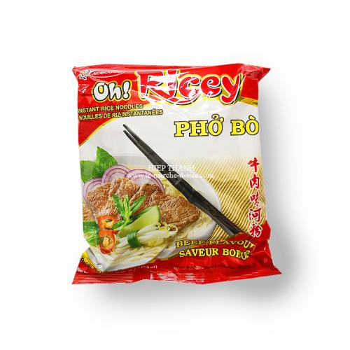 Nouilles de riz instantanées au boeuf Phở bò - Oh! Ricey