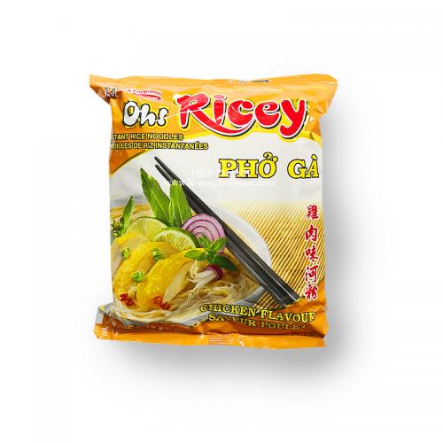 Nouilles de riz instantanées au poulet Phở gà - Oh! Ricey
