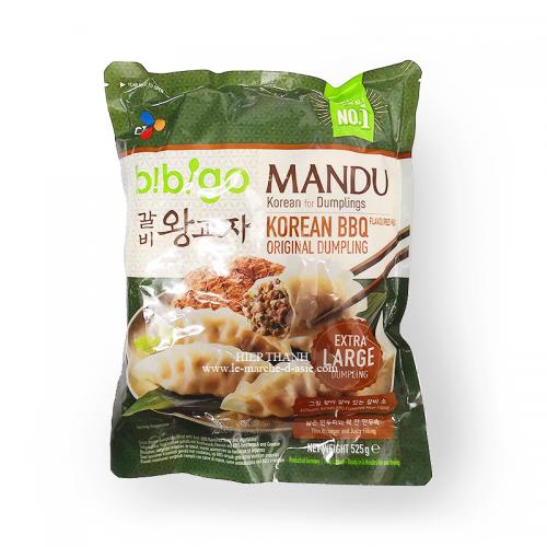 Mandu Boeuf Barbecue Coréen 525g - Bibigo