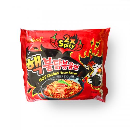 Nouilles instantanées - Hot Chicken Ramen 2x spicy - Samyang