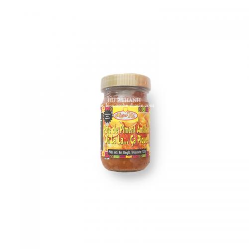 Pâte de Piment Antillais Rouge 120 g - Mister Ho