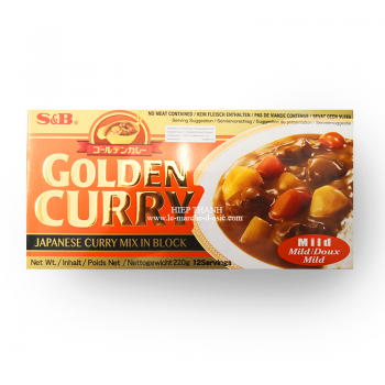 GOLDEN CURRY DOUX S&B