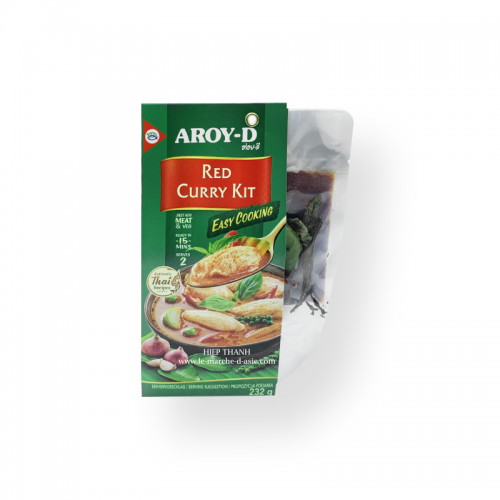Kit Curry Rouge 232g - Aroy D
