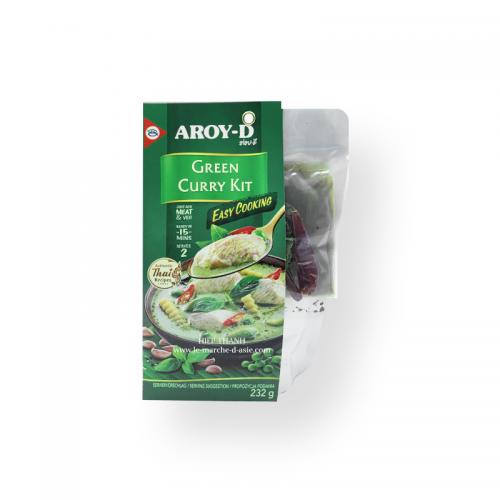 Kit Curry Vert 232g - Aroy D