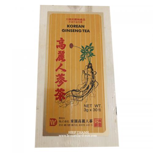 Thé Ginseng de Corée 30*3g