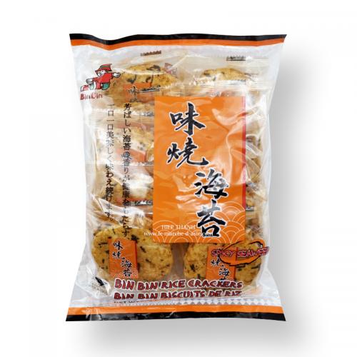 Crackers de riz épicé - Bin Bin