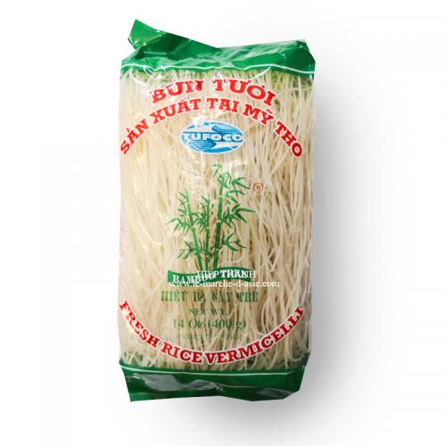 Vermicelles de riz Bún tươi 400g - Bamboo tree Hiệu Ba Cây Tre