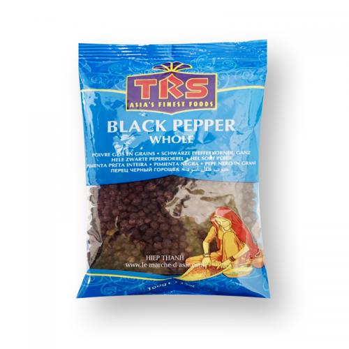 Poivre noir en grains 100g - TRS