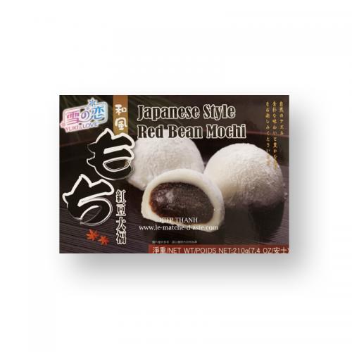 Mochi aux Haricots rouges (6 pcs) - Yuki Love