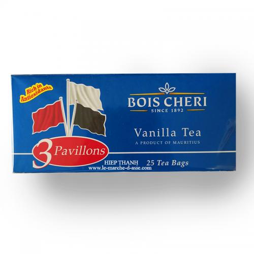 Thé à la vanille en sachet Bois Cheri