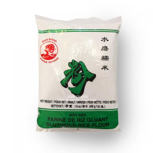Farine de riz gluant (bột nếp) 400g - Cock Brand