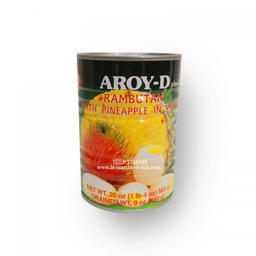 Rambutan et Ananas au sirop - Aroy-D