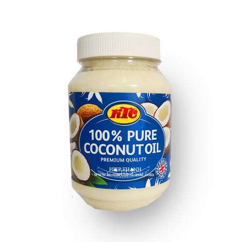 Huile de coco 100% pure 500mL - KTC
