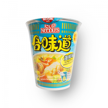 SOUPE NISSIN CUP SEAFOOD