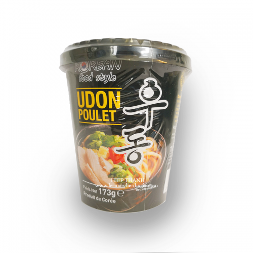 Cup Noodles - Udon Poulet - Korean Food Style