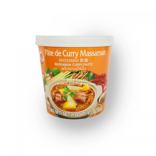 Pâte de Curry Massaman 400g - Cock Brand