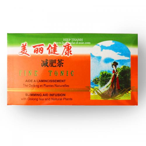 Thé Oolong avec plantes FINE TONIC