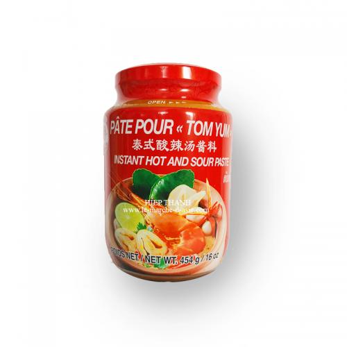 Pâte pour Tom Yum 454g - Cock Brand