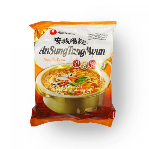 Nouilles instantanées - AnSungTangMyun épicé (hot and spicy) - Nongshim