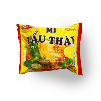 soupe mi lau thai poulet